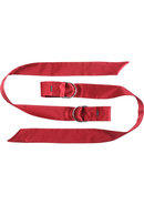 Boa Pleasure Ties Red
