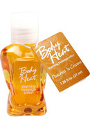 Body Heat Edible Warming Massage Lotion...