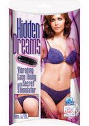 Hidden Dreams Vibrating Lace Thong With Secret Stimulator...