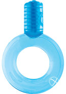 Go Vibe Ring Disposable Cockring Blue