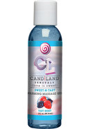 Candiland Sensuals Sweet N Tart Warming Massage Gel Tart...