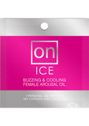 On Ice Buzzing And Cooling Female Arousal Oil 1 Ampoule Per...