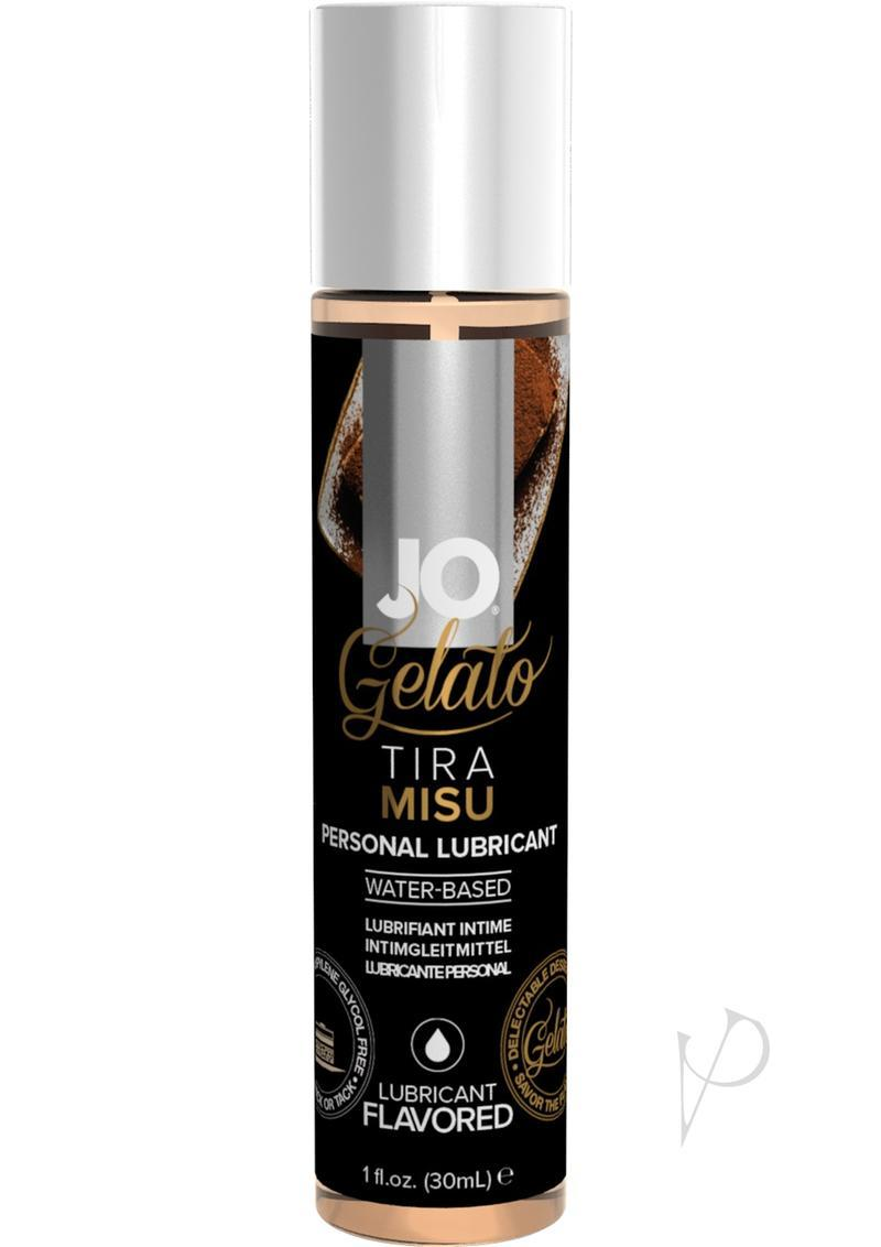 Jo Gelato Water Based Personal Lubricant Tiramisu 1 Ounce Bottle