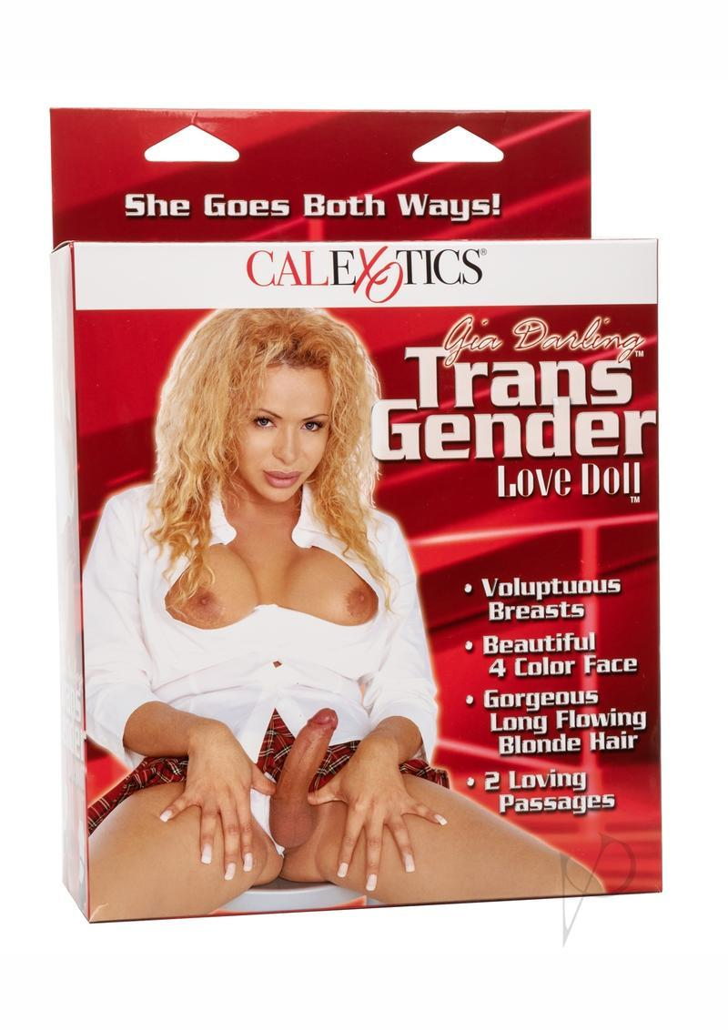 Gia Darling Transexual Love Doll With Removable 7 Inch Dong